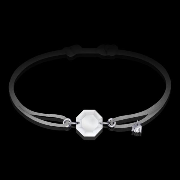 bracelet-cristal-cordon-gris-michael-vessiere