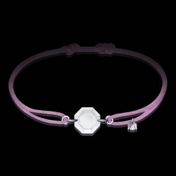 bracelet-rock-cristal-clair-cordon-pastel