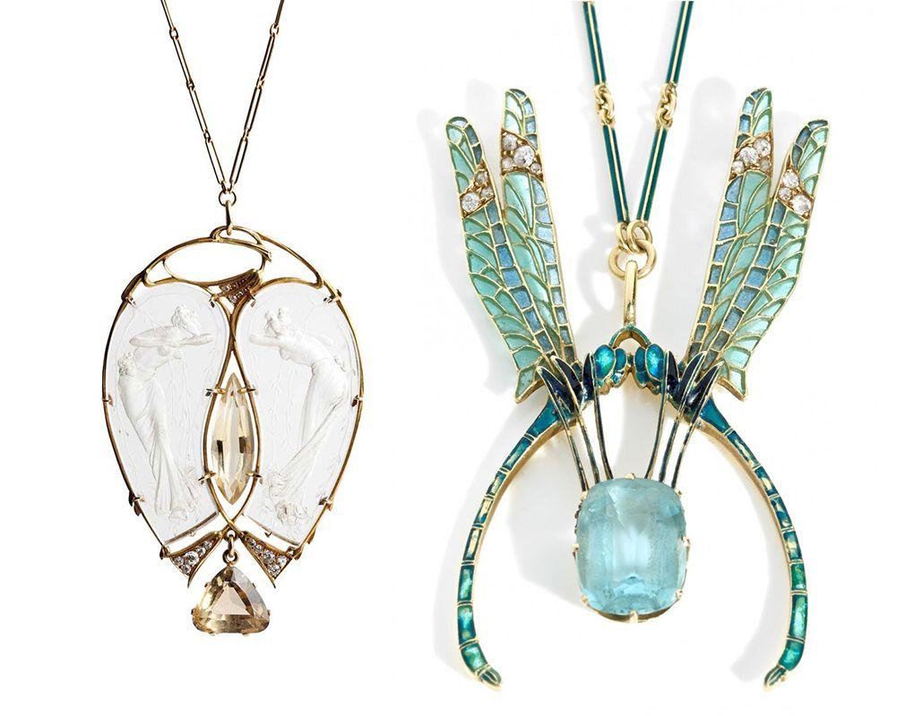 bijoux art nouveau de rene lalique