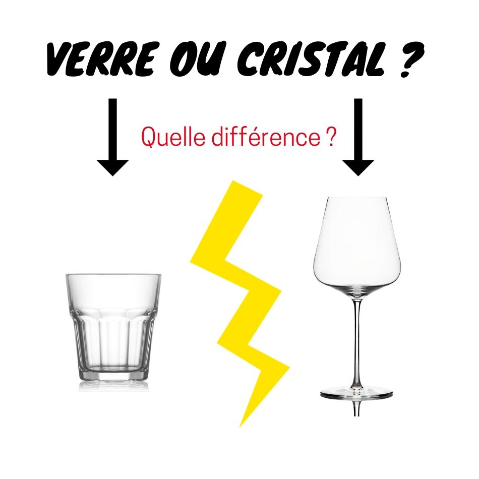 verre ou cristal quelle difference