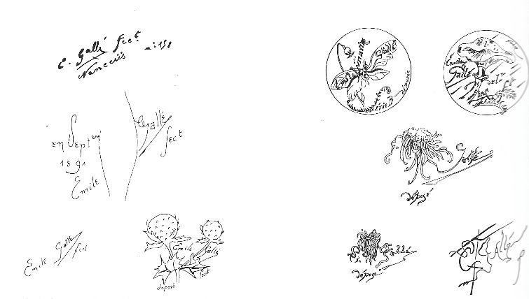 Signature-Galle-1890-1894