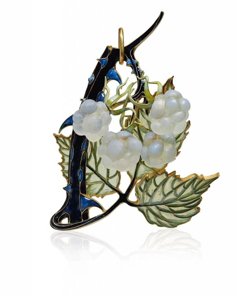 pendentif art nouveau de rene lalique