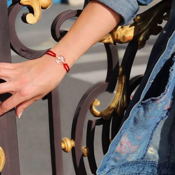 bracelet en cristal art nouveau nancy