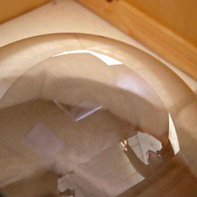 boule en verre de la cristallerie de vallerysthal