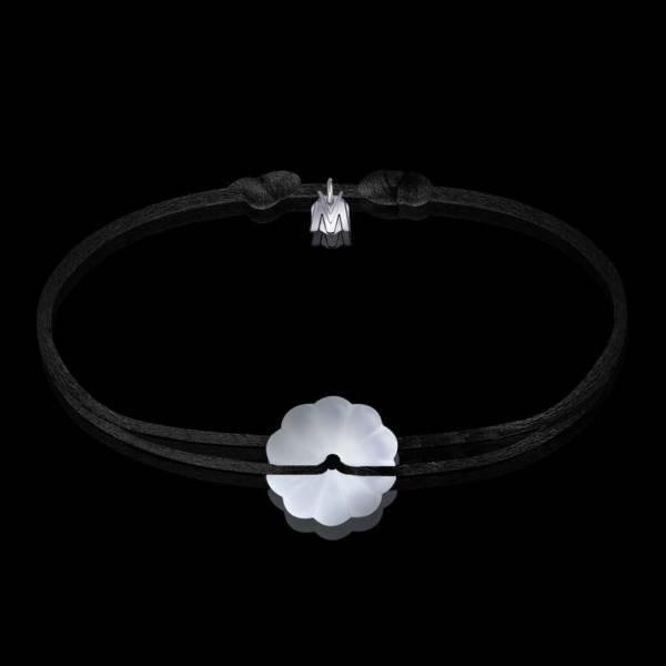 bracelet-rosace-cristal-clair-cordon-noir