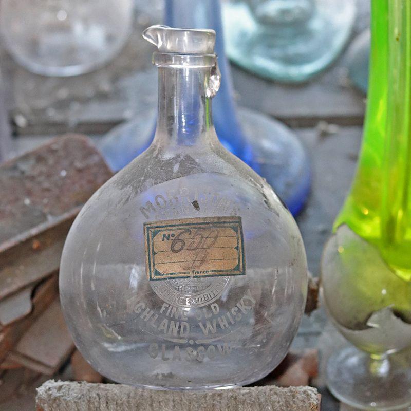 carafe en verre de vallerysthal