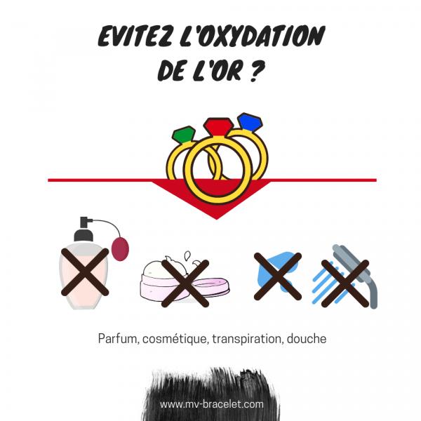 comment éviter oxydation de or