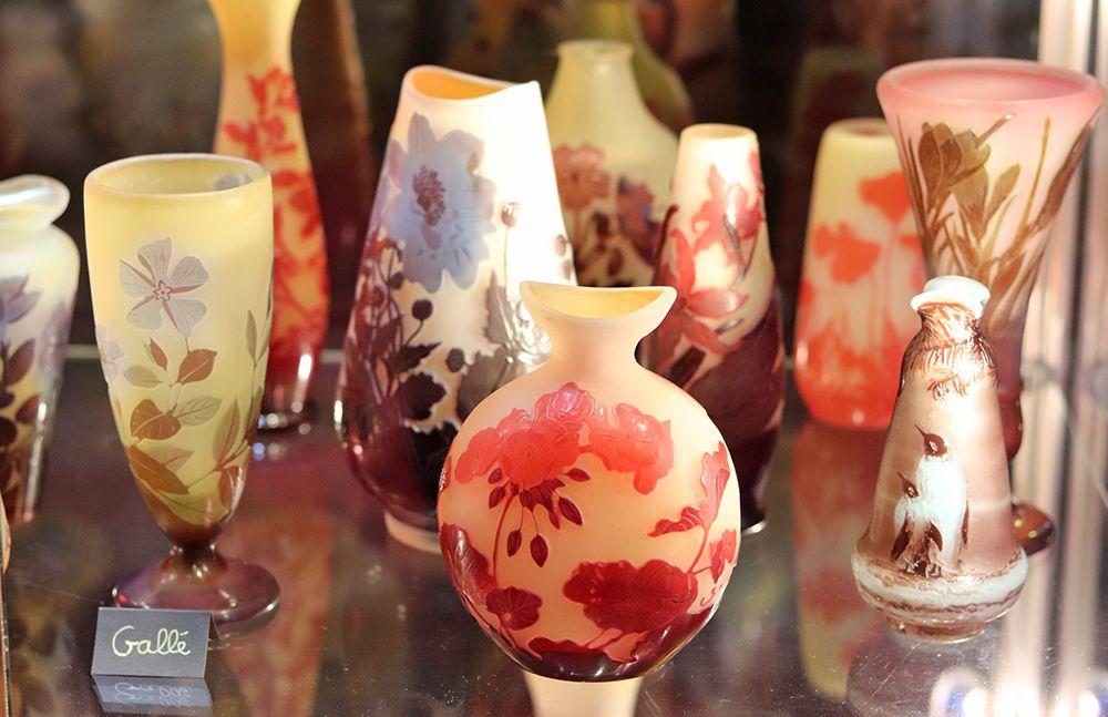 collection de vase galle