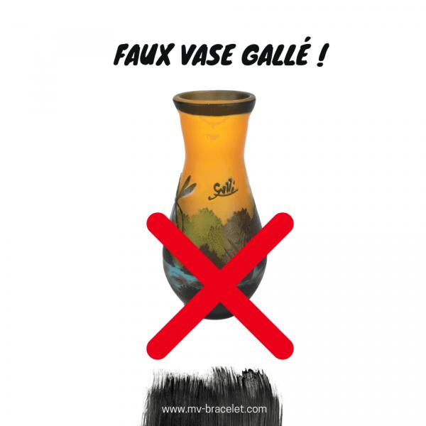 faux vase galle et imitation