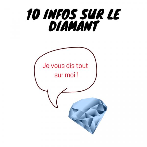 informations pratiques sur le diamant