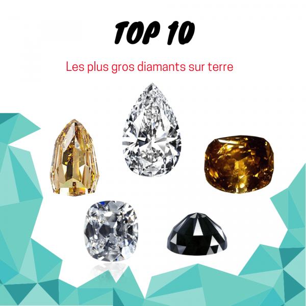 les plus gros diamants au monde