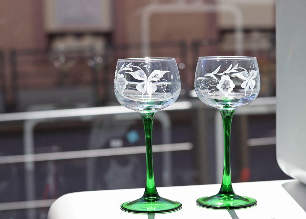 verre a vin du Rhin Alsace