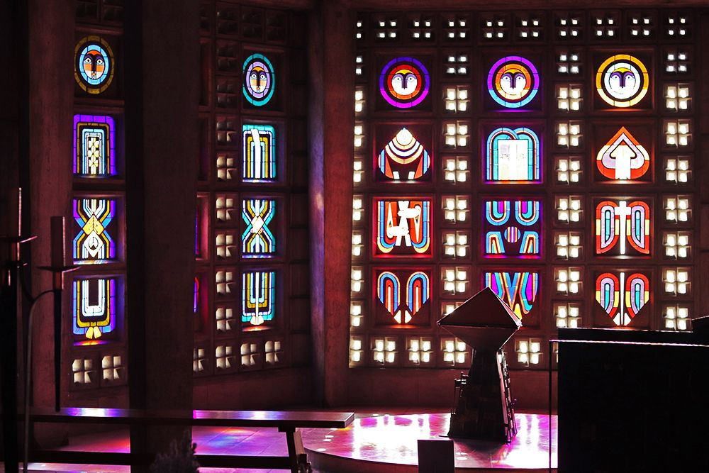 vitraux de eglise Baccarat