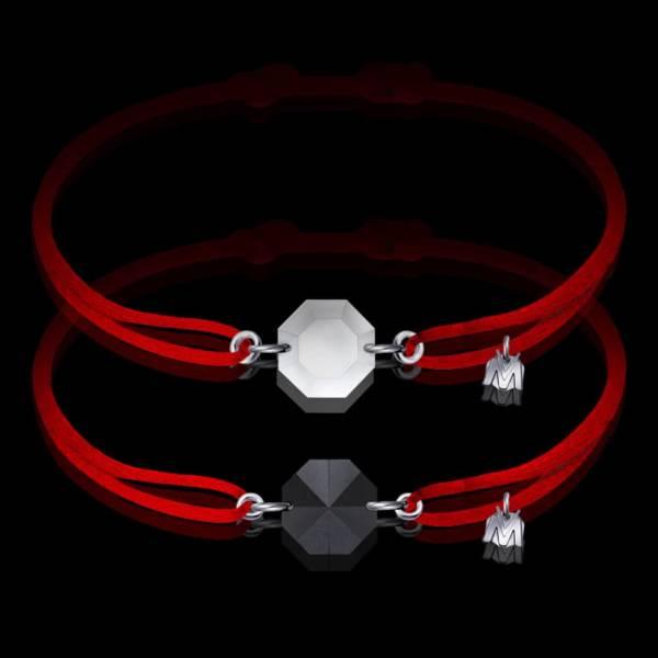 bracelet-de-couple-cristal-cordon-rouge-michael-vessiere