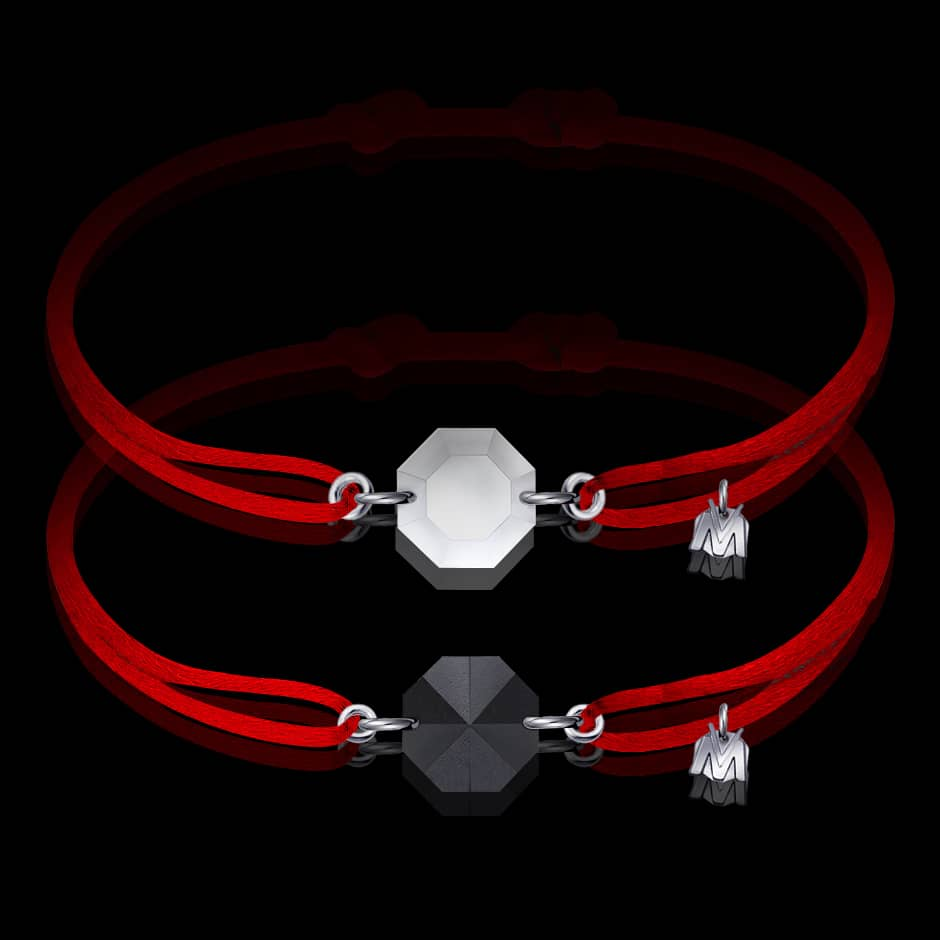 bracelet-de-couple-cristal-cordon-rouge-michael-vessiere