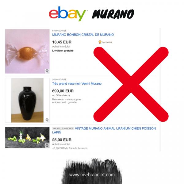 faux et imitation Murano