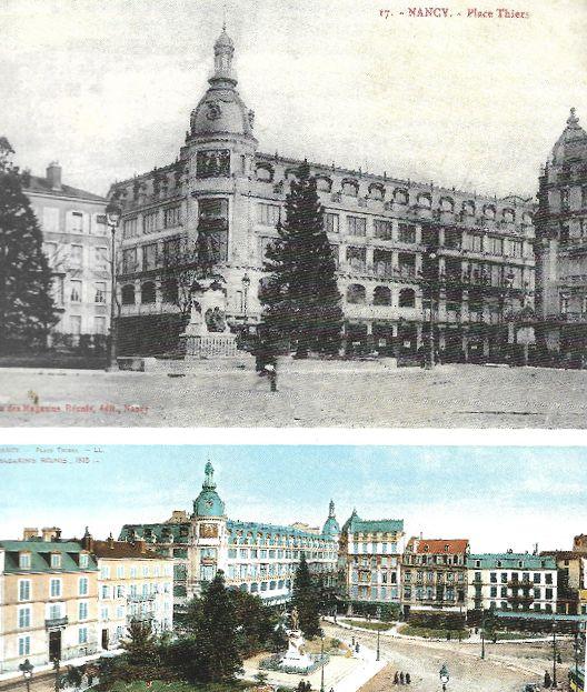 archive de la ville de Nancy les grands magasins Corbin