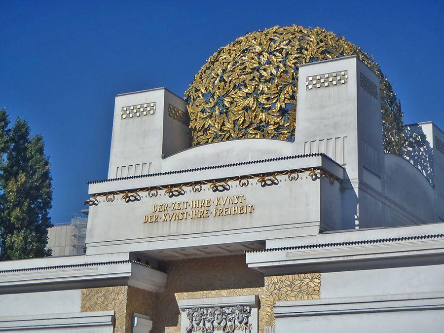 architecture Art nouveau secession de Vienne