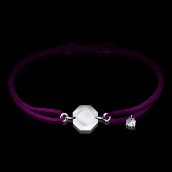 bracelet-cristal-cordon-violet