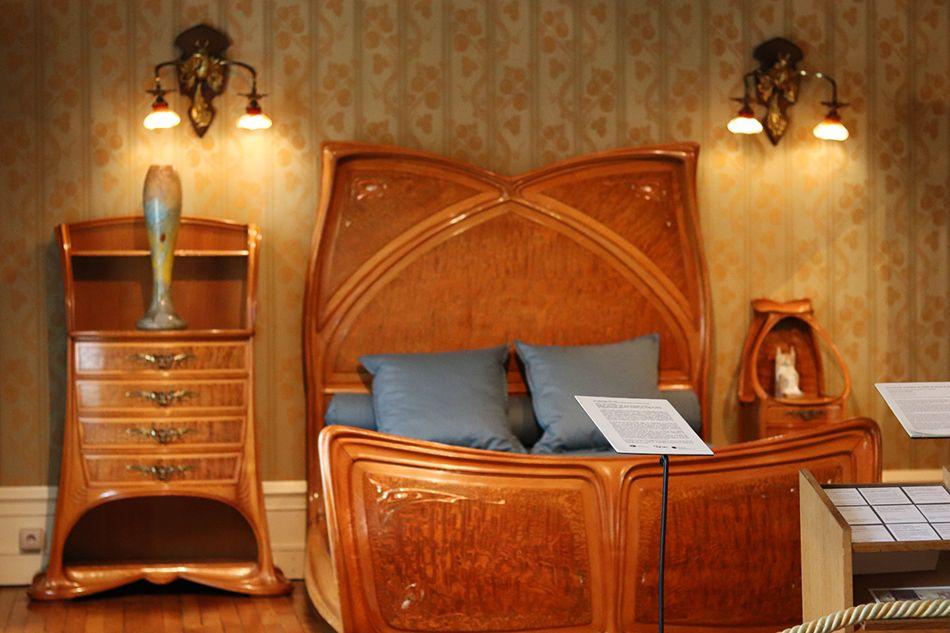 chambre de Louis Majorelle en bois
