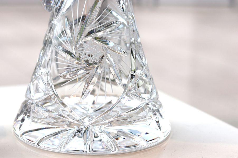 taille du cristal de boheme