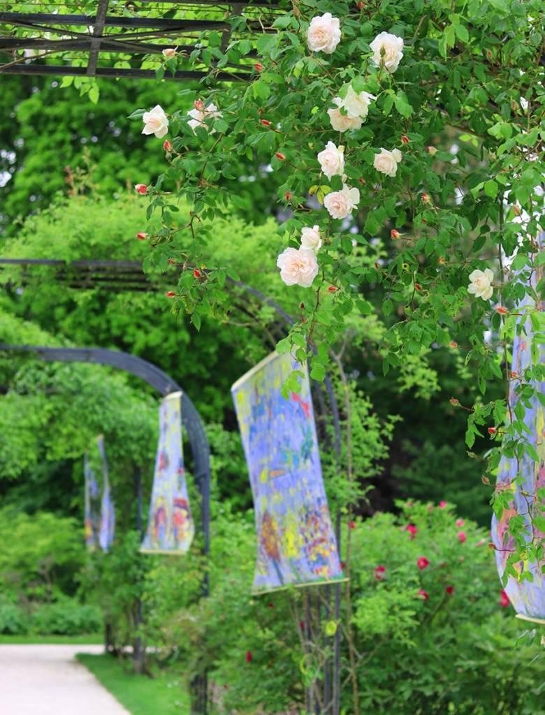 Jardin exterieur du musee de l'école de Nancy