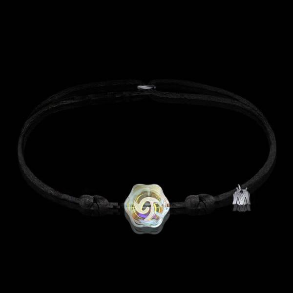 bracelet pour femme en cristal rose de france