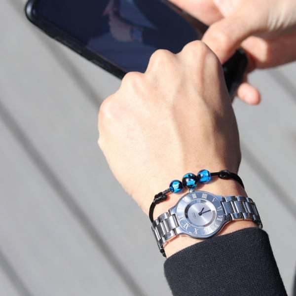 bracelet-perle-bleu