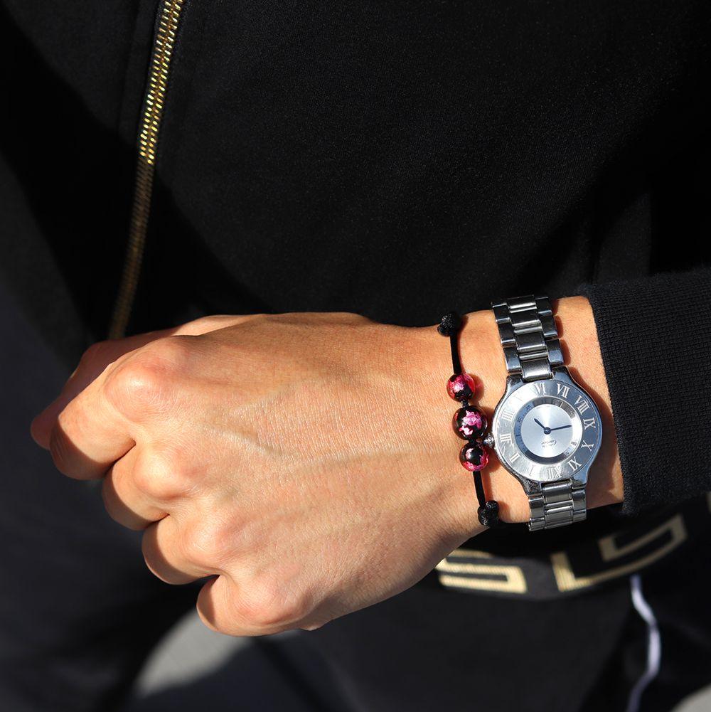 bracelet-perles-rose