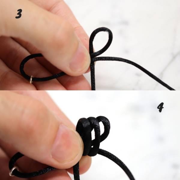 tuto comment faire un noeud coulissant