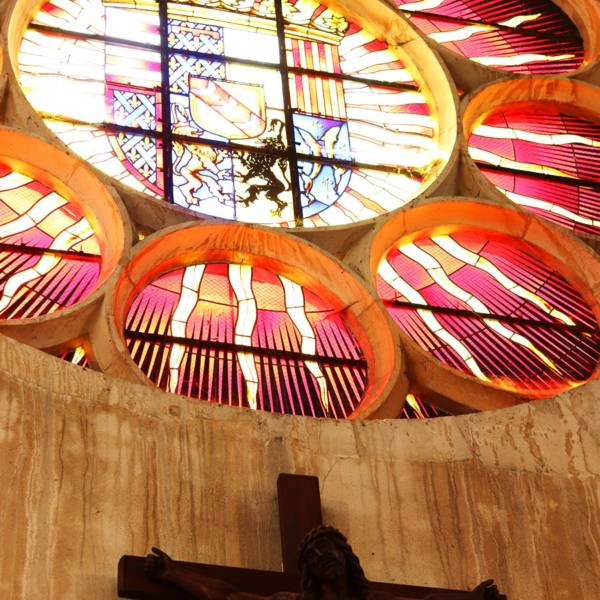 vitrail de église des cordeliers
