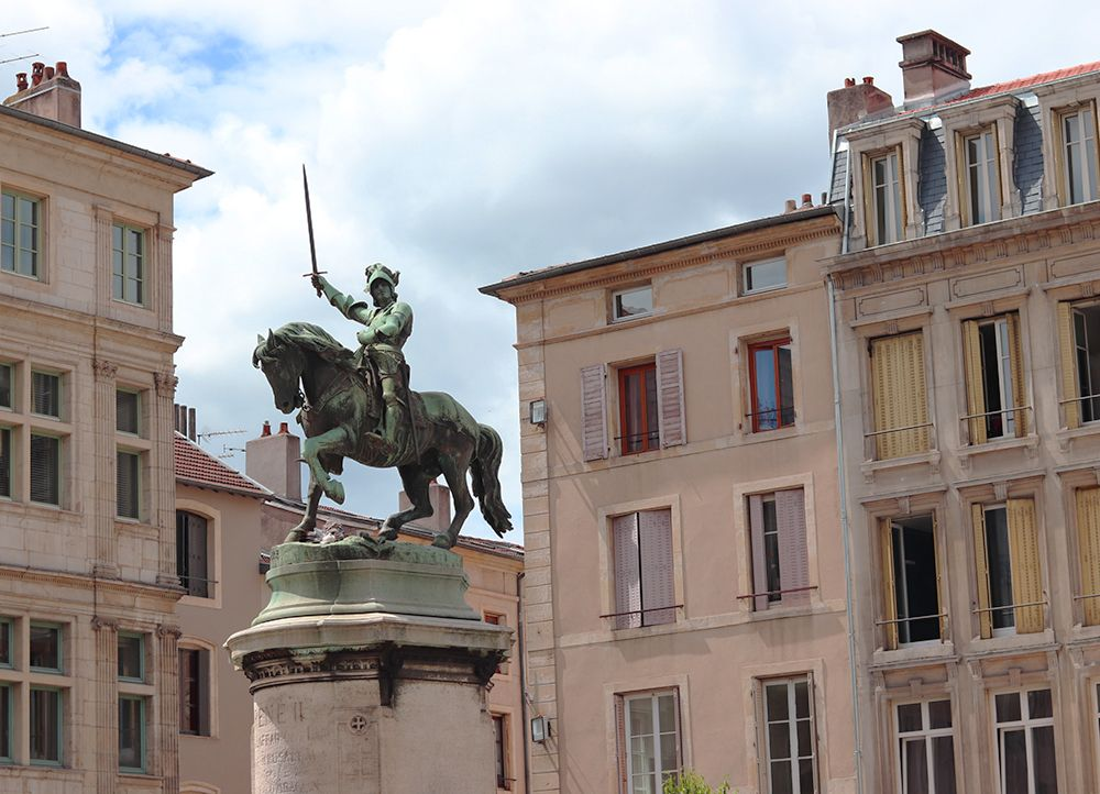 fontaine representant Rene II Duc de Lorraine