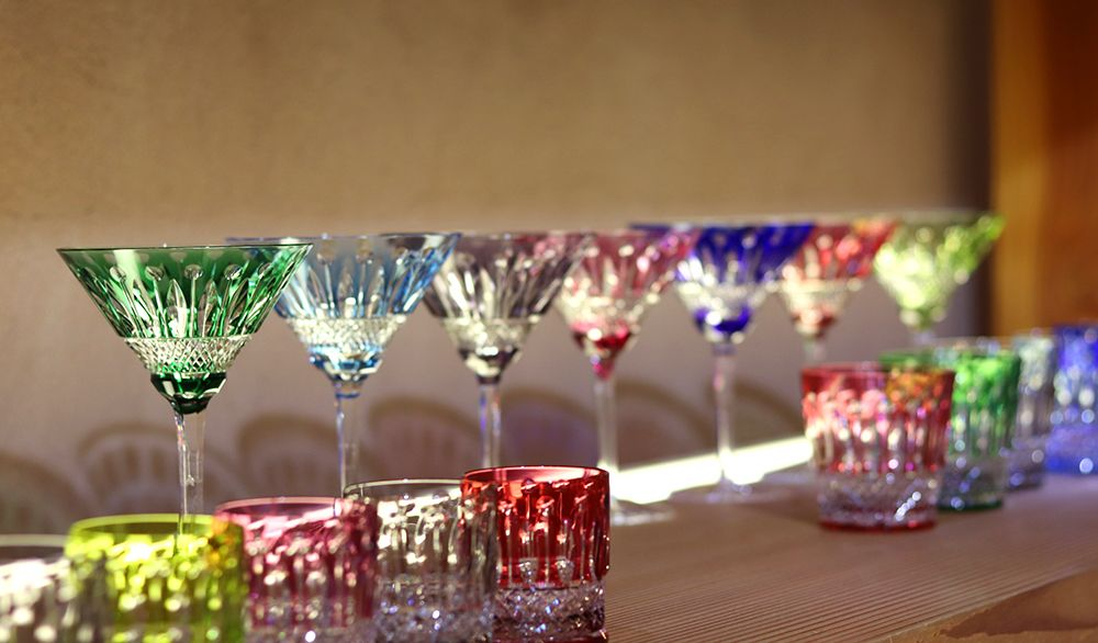 service de verre Tommy couleur saint louis