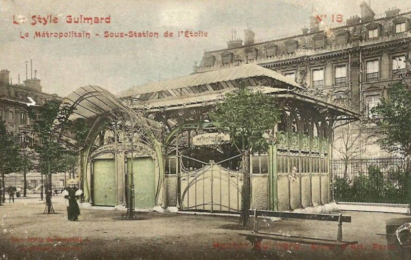 archive du metropolitain parisien