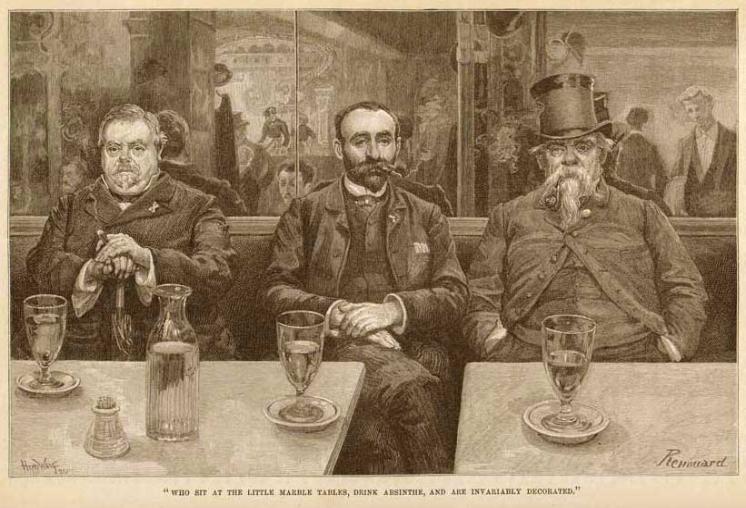 histoire de l'absinthe durant la belle epoque