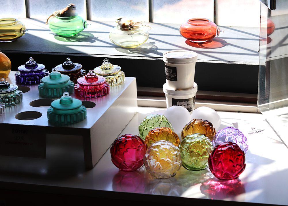 collection de la verrerie de Meisenthal boule de noel