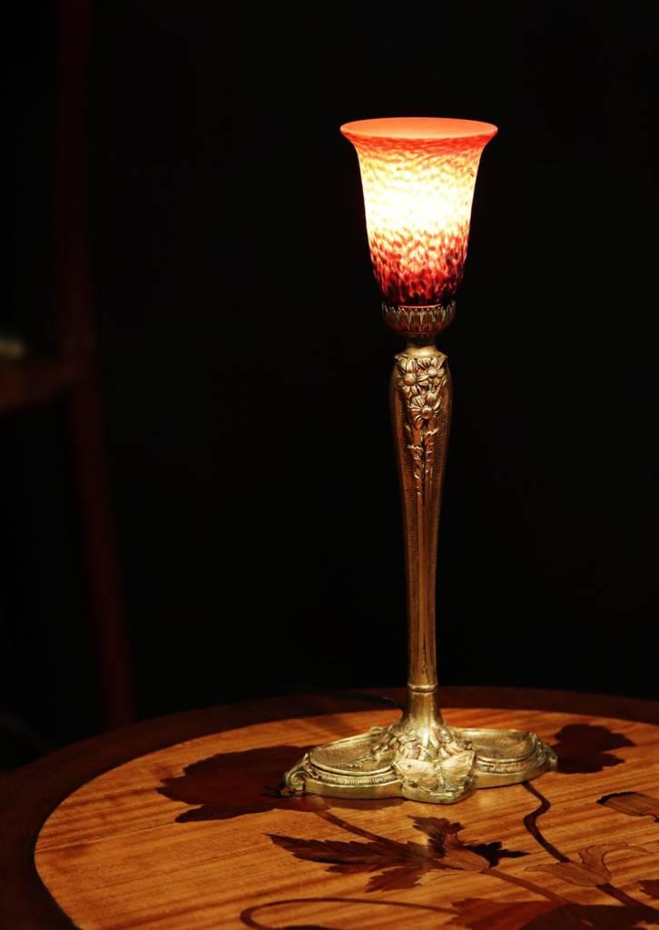lampe galle art nouveau