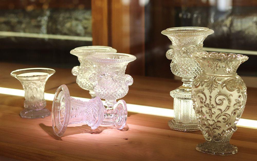vase en cristal au musee Saint Louis