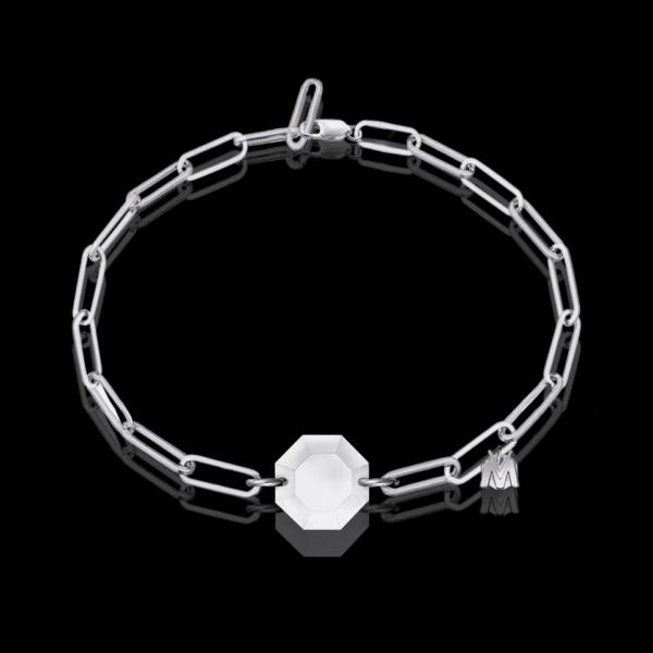 bracelet de luxe en argent pour femme