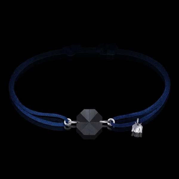 bracelet pour homme en cristal noir sable en lorraine