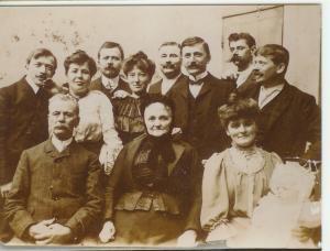 photographie de la famille Muller verrier