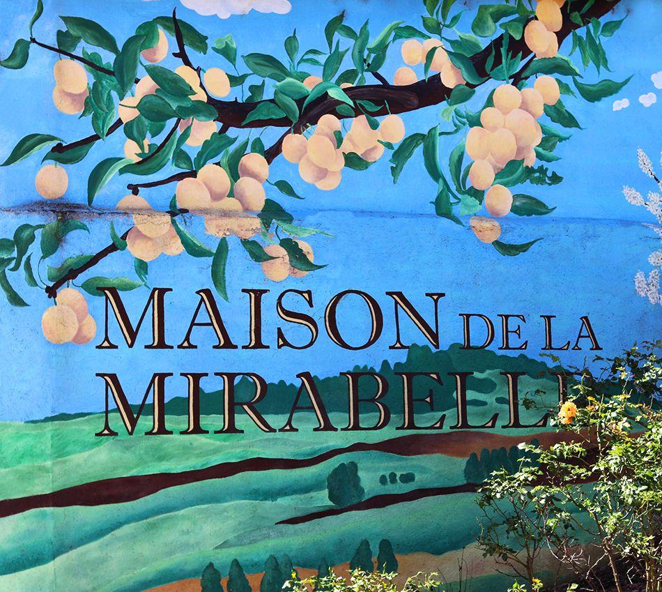 peinture de la maison de la mirabelle rozelieure