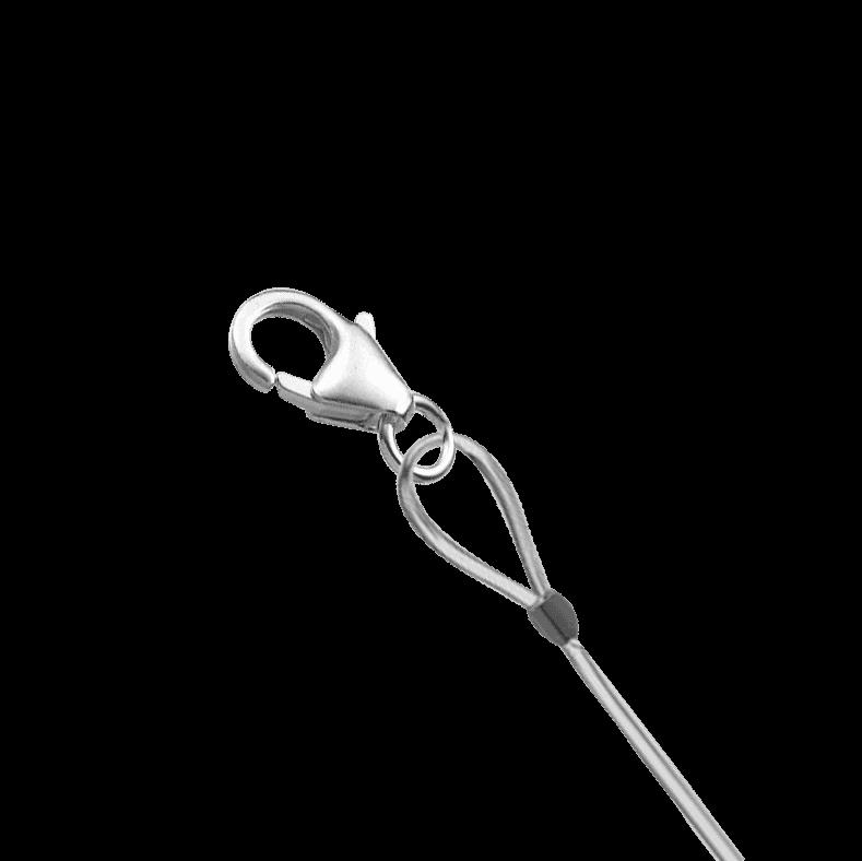 tuto fermeture d'un bracelet de perles