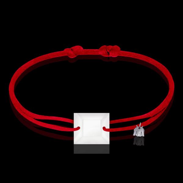 bracelet sur cordon en cristal femme