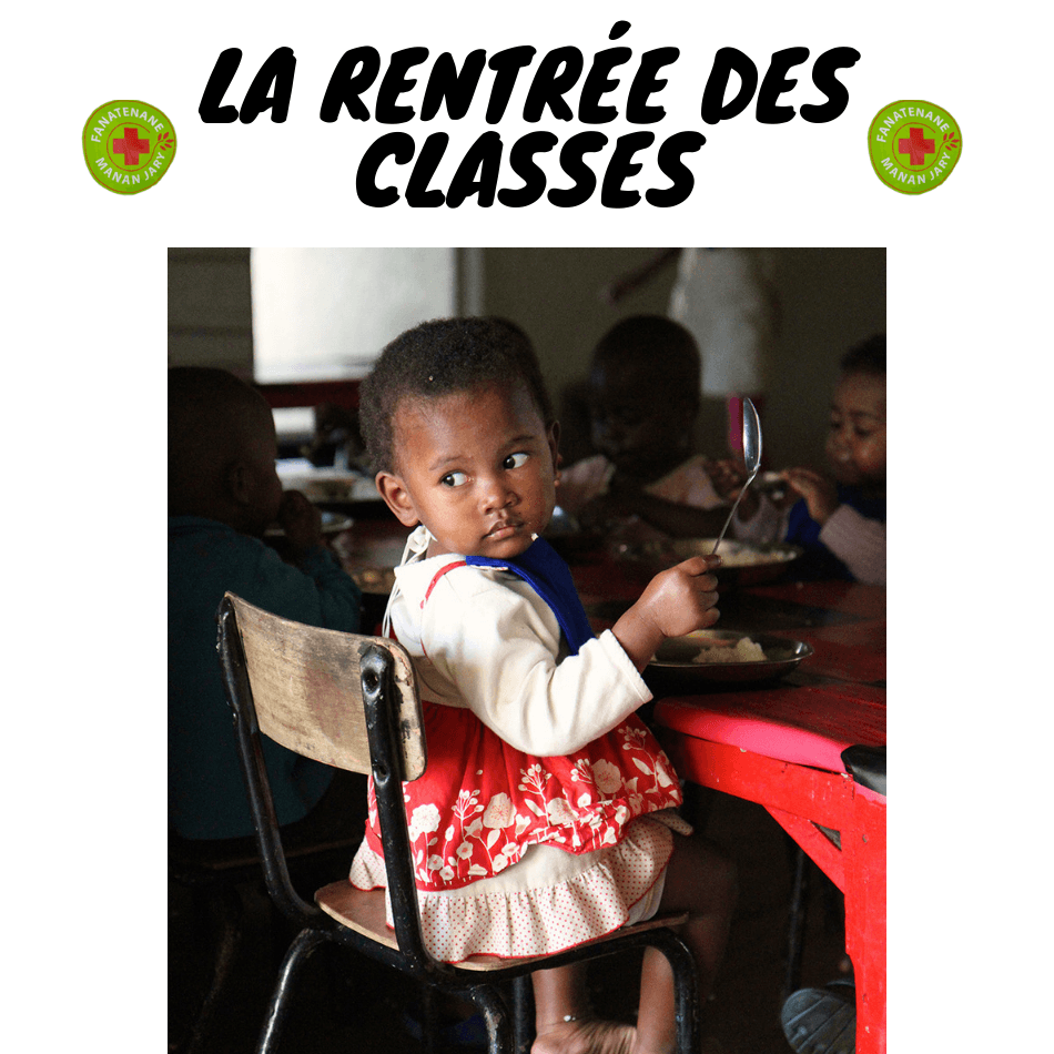 rentree des classes enfants malgaches fanatenane