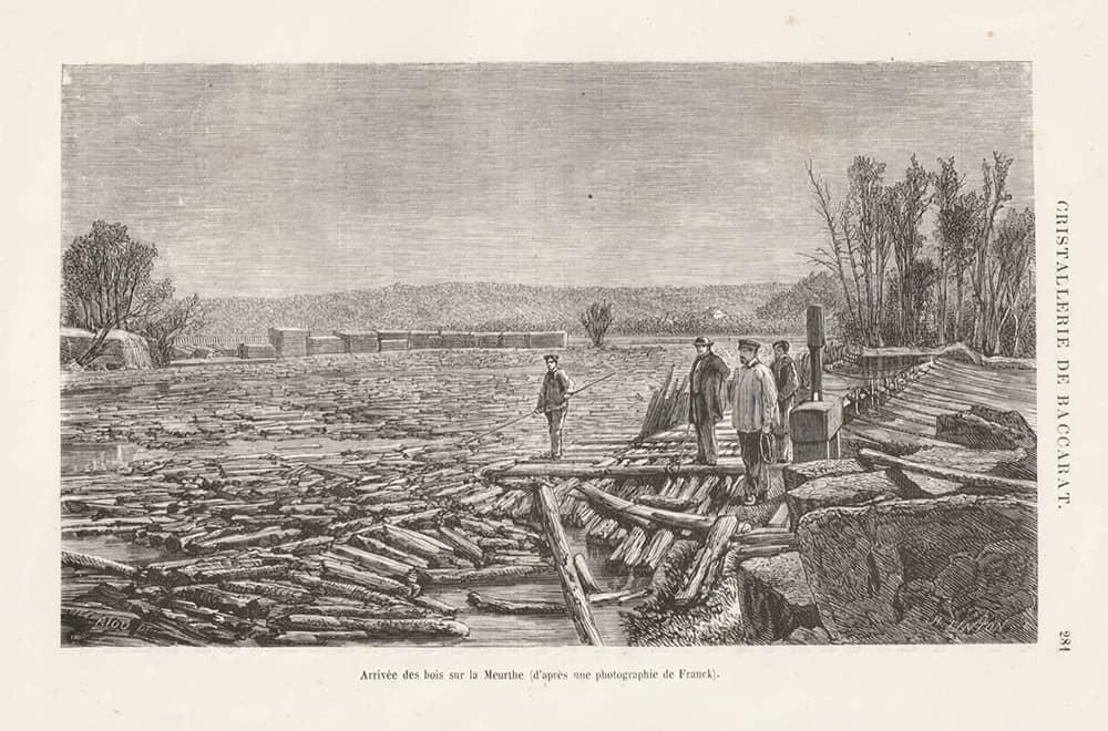 "les grandes usines. Baccarat en 3 volumes de Turgan 1863"" ainsi que collection Cg"