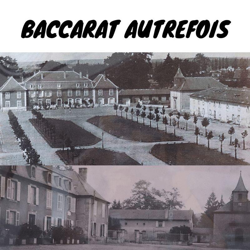 l'histoire et l'origine de la cristallerie de Baccarat