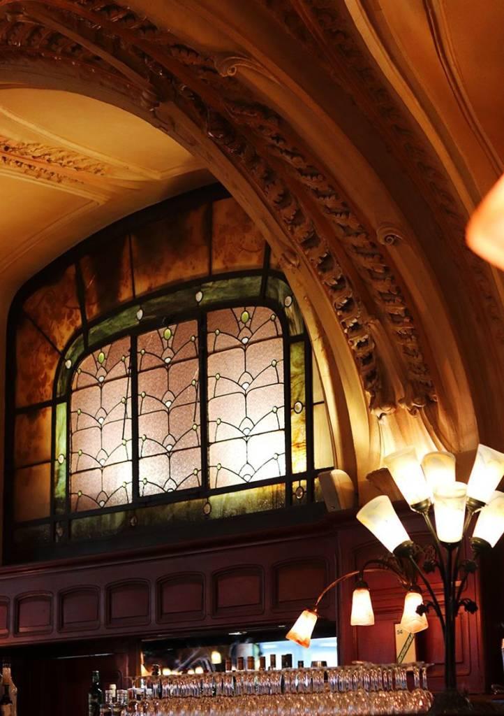 vitraux de gruber brasserie excelsior Nancy