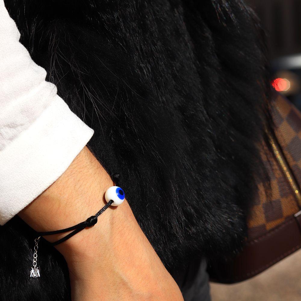 bracelet contre le mauvais oeil verre