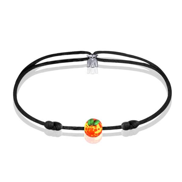 bracelet en verre mirabelle de lorraine